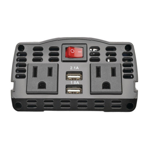 375-Watt-Continuous Powerverter(R) Ultracompact Car Inverter With Usb & Battery Cables