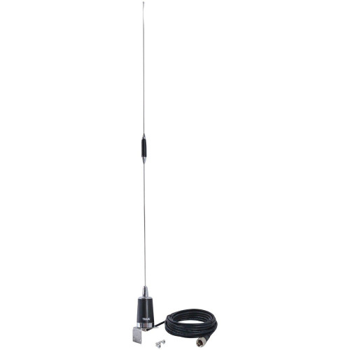 Pre-Tuned 144Mhz-148Mhz Vhf/430Mhz-450Mhz Uhf Dual-Band Amateur Trunk Or Hole Mount Antenna Kit With Pl-259 Connector