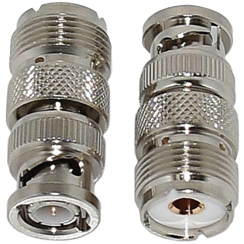 Bnc Male To So-239 Uhf Female Adapter, 2-Pack
