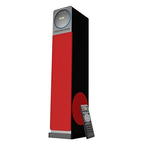 Sykik Tower Tsme26 Rd, High Power 60W Rms Tower Speaker With Blu