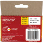 "Arrow 591189BL Black T59 Insulated Staples for RG59 quad & RG6, 5/16"" x 5/16"", 300 pk"