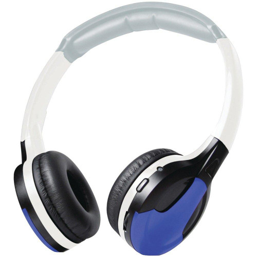 XO Vision IR630B Universal IR Wireless Foldable Headphones - Blue