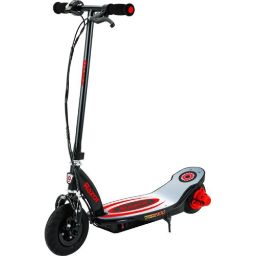 Power Core E100 Electric Scooter - Red (Aluminum Deck)