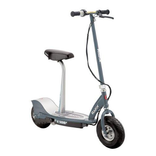 E300S Seated Electric Scooter - Gray