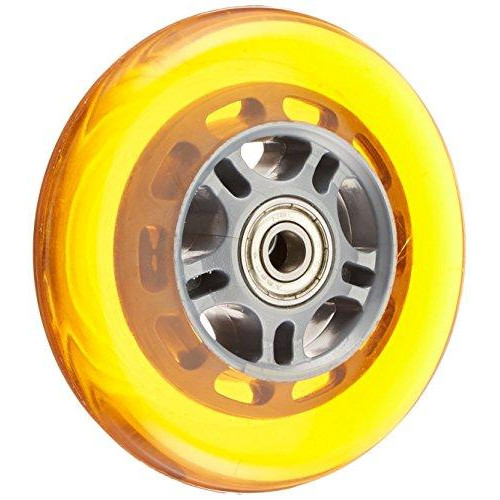 A Scooter Series Wheels With Bearings (Set Of 2) - Orange