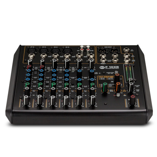 10 Channel Mixer W/ Fx And Recording