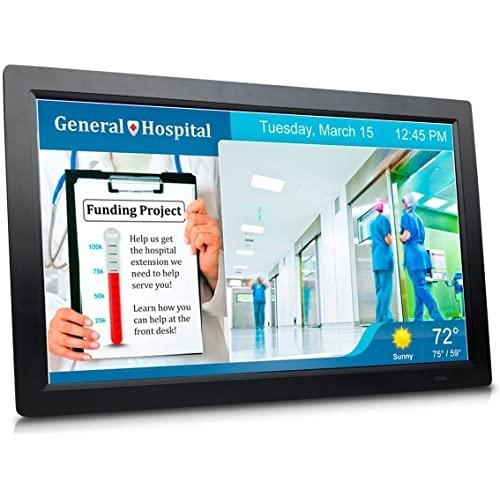 Sungale All-In-One 19 Digital Signage With Cloud Support And Wide Viewing Angle Lcd Screen Cpf1909
