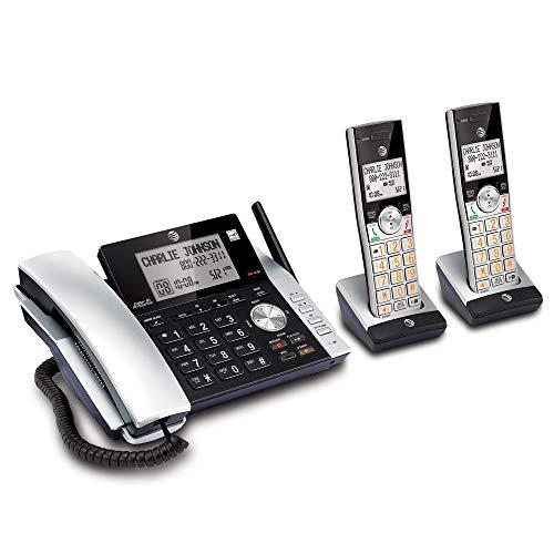 At&Amp;T Cl84215 Dect 6.0 Expandable Cordless Phone System W/Digital Answering