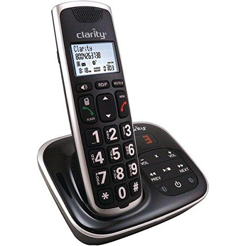Clarity 59914.001 Amplified Bluetooth(R) Cordless Phone With Answering Machine