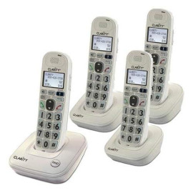Clarity Home Phone With 3 Handsets