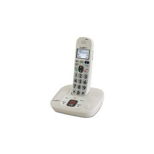 Clarity D712 Moderate Hearing Loss Cordless Phone - Base Phone For Clarity D702Hs (Not Included)