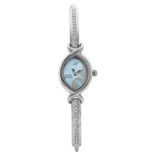 Blue Dial Analog Watch