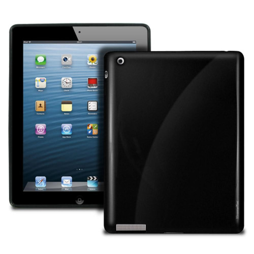 Xtrememac Tuffwrap Shine Case For Ipad 2, 3 & 4 (Black)