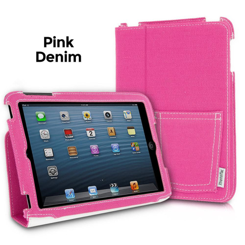 Xtrememac Microfolio Case For Ipad Mini, Pink Denim