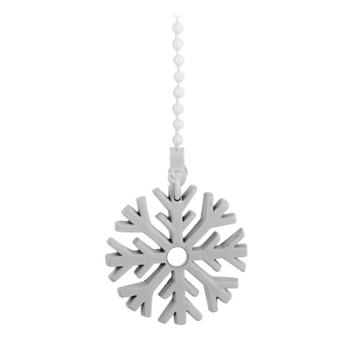 Westinghouse Pull Chain With Snowflake (White)