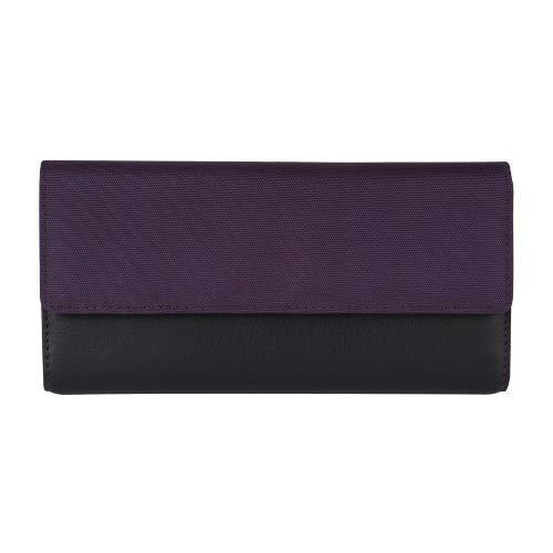 Travelon Safe Id Accent Flap Clutch Wallet, Purple, One Size