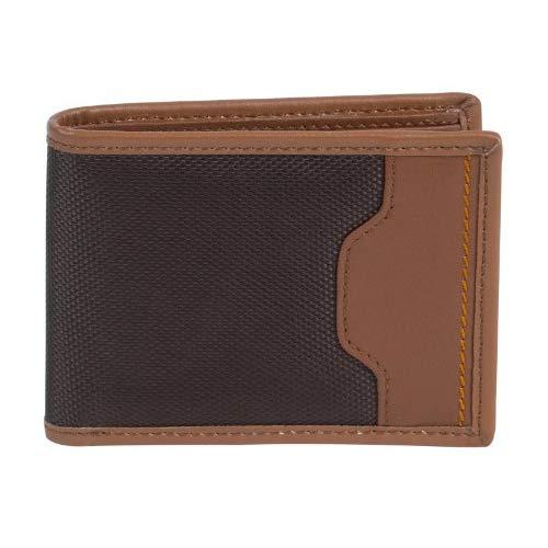 Travelon Safe Id Accent Billfold Wallet, Saddle, One Size
