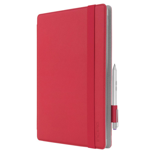 Incipio Roosevelt Slim Folio Case For Microsoft Surface Pro W/ Type Cover Red