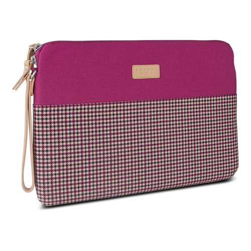 Greene + Gray Zippered Sleeve For Microsoft Surface Pro 3, Burgundy Houndstooth