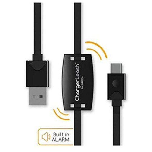 Chargerleash Forget-Me-Not 6Ft Usb To Microusb Cable With Built-In Alarm