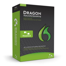Nuance Dragon Naturallyspeaking 12 Basic - Software Only - No Headset Included