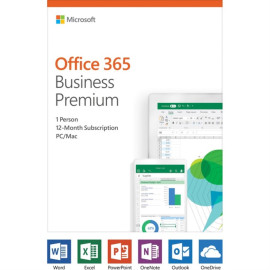 Microsoft Office 365 Business Premium 1-Year Subscription 1-User Activation Card