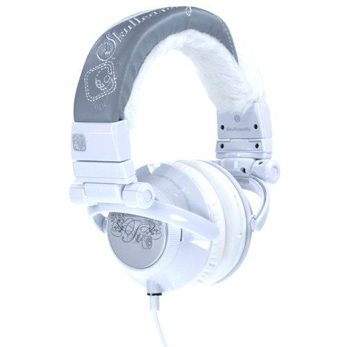 Skullcandy SC-Ti07 Ti Stereo Headphones (White/Silver) (Discontinued by Manufacturer)