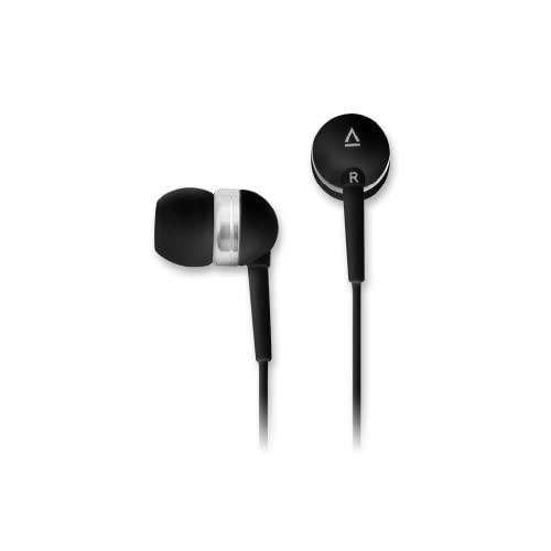 Creative EP-630 Noise-Isolating in-Ear Earphones with Superior Audio Quality Deep Bass Clear Highs and Soft Ergonomic Earbuds (Black)