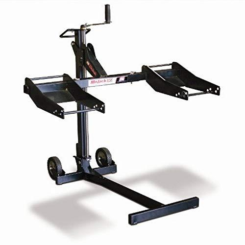 Mojack Ez - Residential Riding Lawn Mower Lift, 300Lb Lifting Capacity, Fits Most Residential &Amp; Zero Turn Riding Lawn Mowers, Folds Flat For Easy Storage, Industry Leading Two-Year Warranty