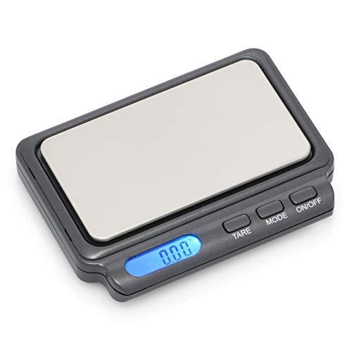 American Weigh Scales Card Series High Precision Lcd Mini Pocket Weight Scale, Gray, 100 X 0.01 G (Card2-100-Gry)