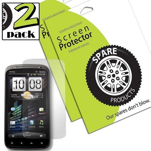 Spare Products Screen Protector Film for HTC Pyramid/Sensation - 1 Pack - Retail Packaging - Clear