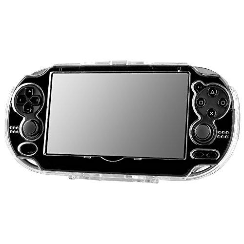Insten Snap-On Crystal Case Compatible With Sony Playstation Vita, Clear