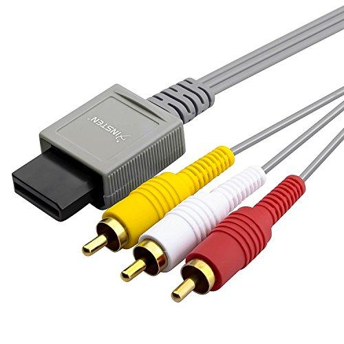 Insten Av Composite Cable Compatible With Wii