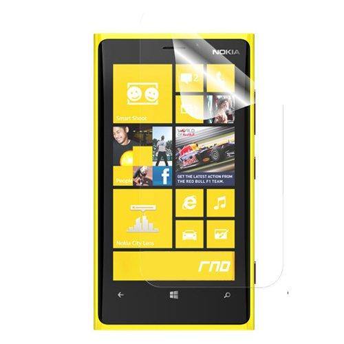 RND Screen Protector for Nokia 920 - Retail Packaging - Transparent