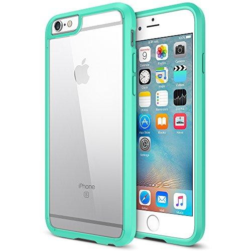 Trianium iPhone 6S Plus Case [Clear Cushion] iPhone 6 Plus Clear Case Bumper (55 Inch)[Scratch Resistant] Shock-Absorbing Hard Back Panel For Apple iPhone 6/6S Plus (2014/2015) - Cotton Candy