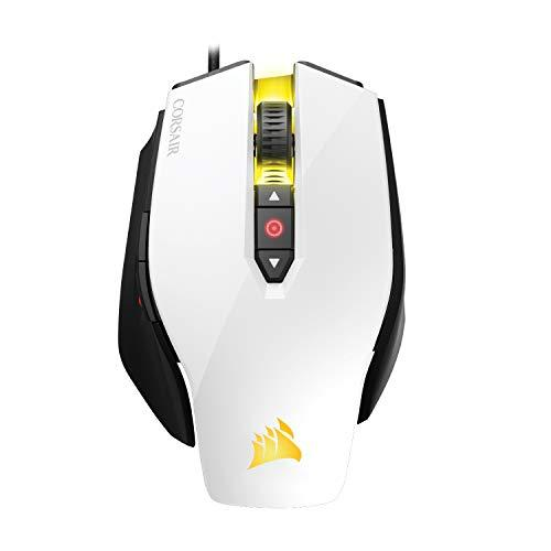Corsair M65 Pro Rgb - Fps Gaming Mouse - 12,000 Dpi Optical Sensor - Adjustable Dpi Sniper Button - Tunable Weights -