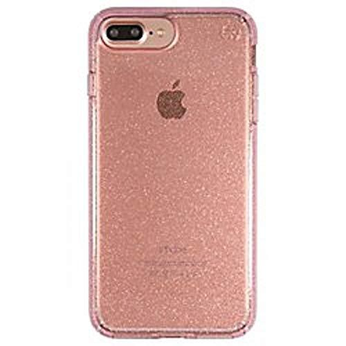 Speck Products Presidio Clear+Glitter Case For Iphone 7 Plus Iphone 6 Plus/6S Plus - Gold Glitter/Rose Pink Clear