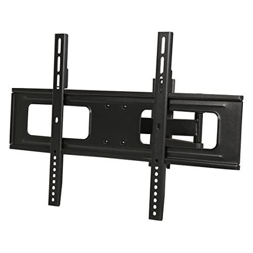 Rosewill TV Wall Mount Bracket for Most 37-70 LED LCD TV Monitors up to 110lbs VESA 600x400mm with Full Motion Tilt and Swivel 186 Extension Arm 6 ft 4K HDMI Cable RHTB-17001