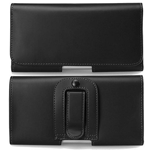 Premium Smooth Pu Leather Waist Belt Clip Holster Wallet Case For Apple Iphone 8 7 6S Plus / Oneplus 5T 3T / Xiaomi 6X / Mix 2 / Mix 2S / Note 3 / Redmi Note 5