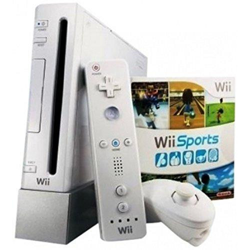 Wii With Wii Sports Game - White