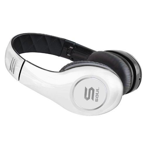 Soul By Ludacris Sl150Bw High-Definition On-Ear Headphones (Discontinued By Manufacturer)