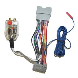 Factory Radio Add A Amp Amplifier Sub Interface Wire Harness Inline Converter Compatible With Honda