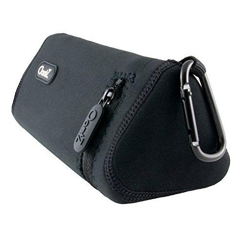 Oontz Angle 3 Ultra Bluetooth Speaker Official Carry Case, Neoprene With Aluminum Carabiner, Reinforced Zipper, By Cambridge Soundworks [Not For Oontz Angle 3 Or Oontz Angle 3 Ultra Pro Edition]