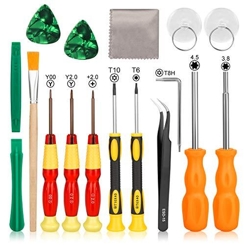 Switch Screwdriver Set - Younik 17 In 1 Switch Tool Kit Tri Wing Tip Screwdrivers For Switch Repair Kit For Ns/Switch Lite/J-Con/Ds/Nes/Snes/Ds Lite/W-Ii/Gba/Gamecube