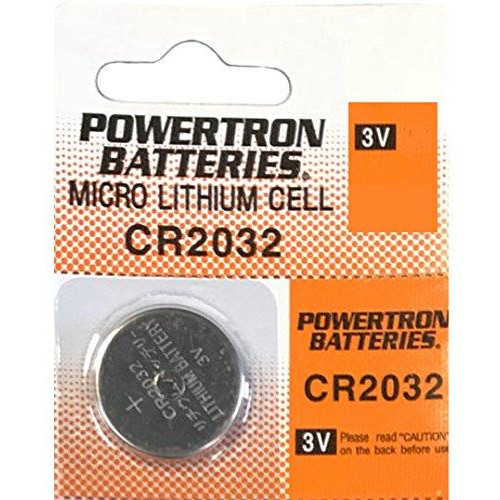 Usaremote Battery Cr2032 3V For Car Remote Key Fob Keyless Entry (Pack Of 1)