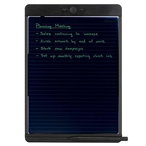 Boogie Board Blackboard Reusable Notebook With Letter-Size Writing Tablet With Stylus, Instant Erase And Templates (8.5?X11?)