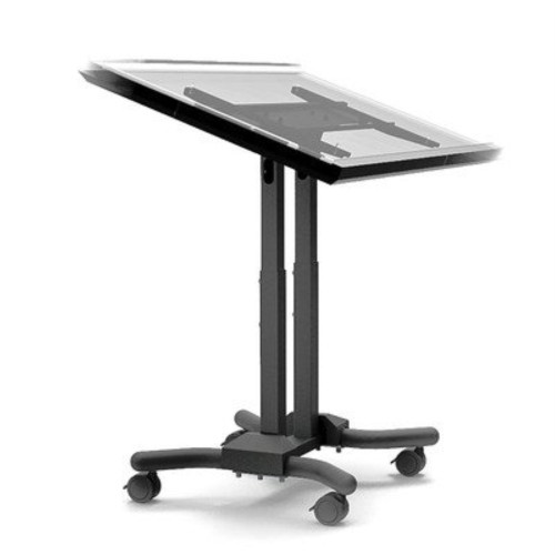 Adjustable Ergonomic Mobile Touchscreen Cart For 32 Inch - 56 Inch