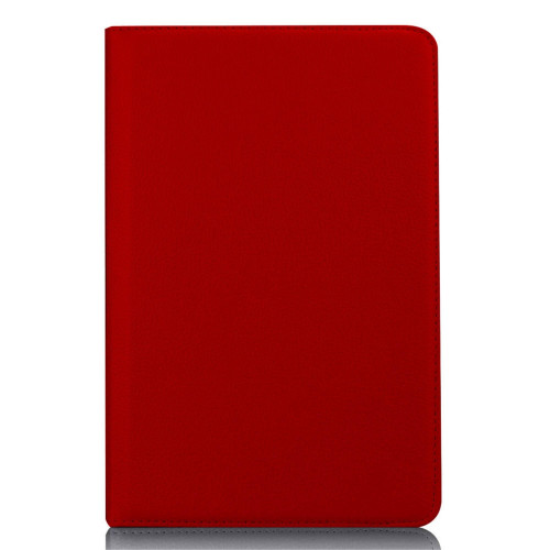 Samsung Galaxy Tab S4 10.5 inch / T830 / T835 / T837 Tablet PU Leather Folio 360 Degree Rotating Stand Case Cover Red