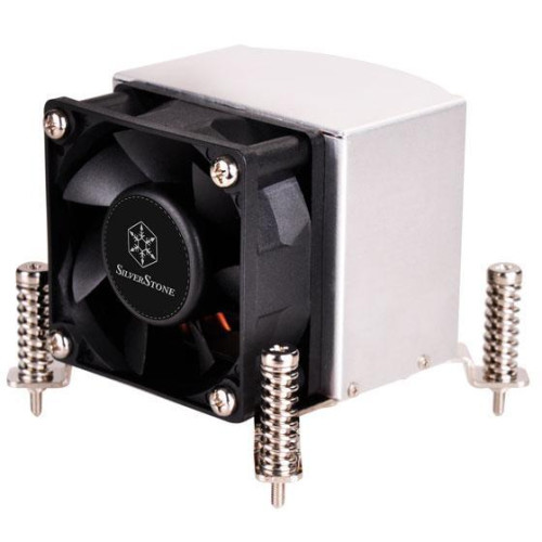 HDC with6mmx3 heatpipe / 6025 dual ball bearing PWM fan/ spring screw with backplane for 2U