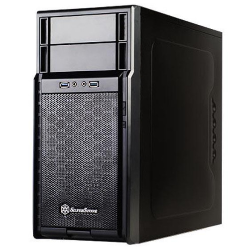 Black, High-strength plastic and meshed front panel